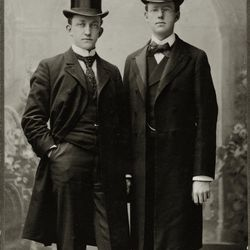 Tracy Y. Cannon and brother George J. Cannon served in the British Mission in 1901. They are two missionaries found in the new online missionary database recently created by the Church History Library, in partnership with FamilySearch and the Harold B. Lee Library at BYU.