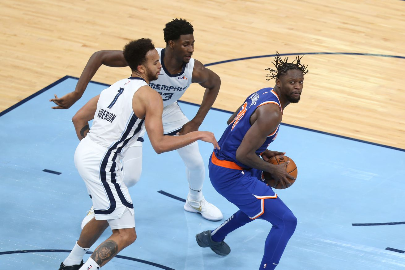 NBA: New York Knicks at Memphis Grizzlies
