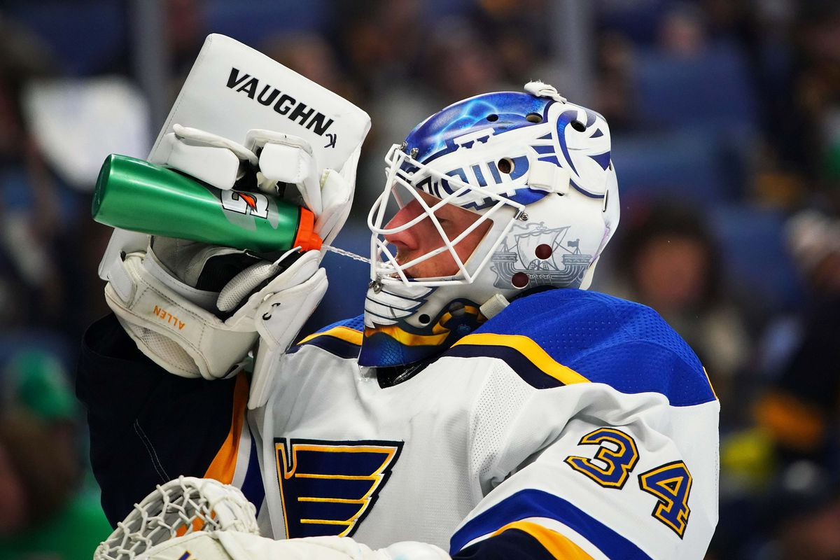 size 40 31f61 c1b2f Roundtable: Should the Blues trade Jake Allen? - St. Louis ...