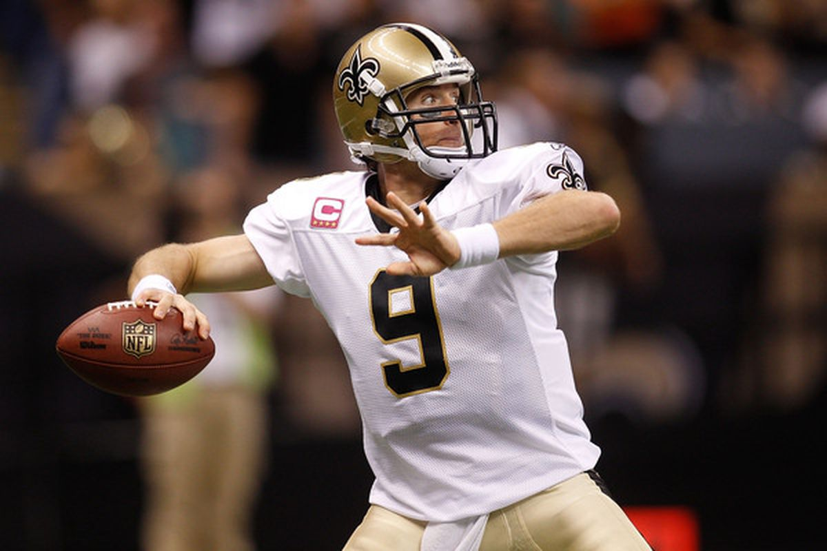 Drew Brees and the swarming gnat offense is one of the best in the league at sustaining drives.