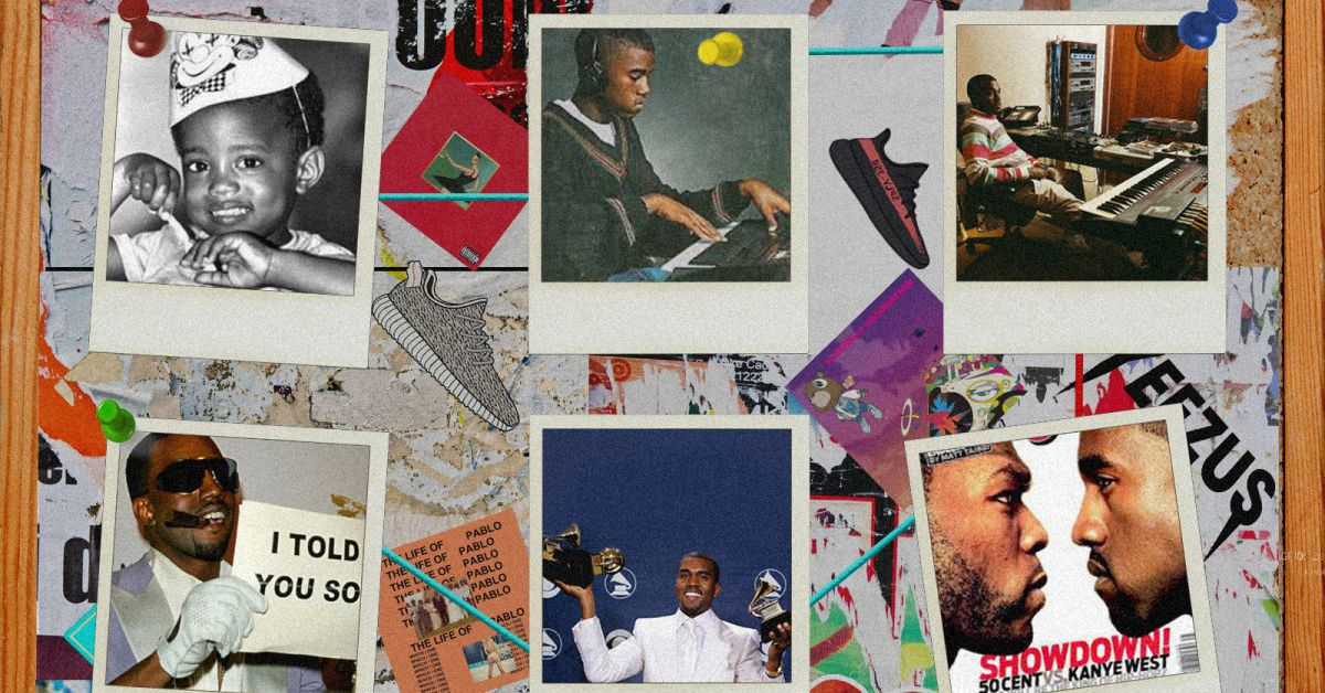 A Timeline Of Kanye West S 41 Years Of Excellence Revolt