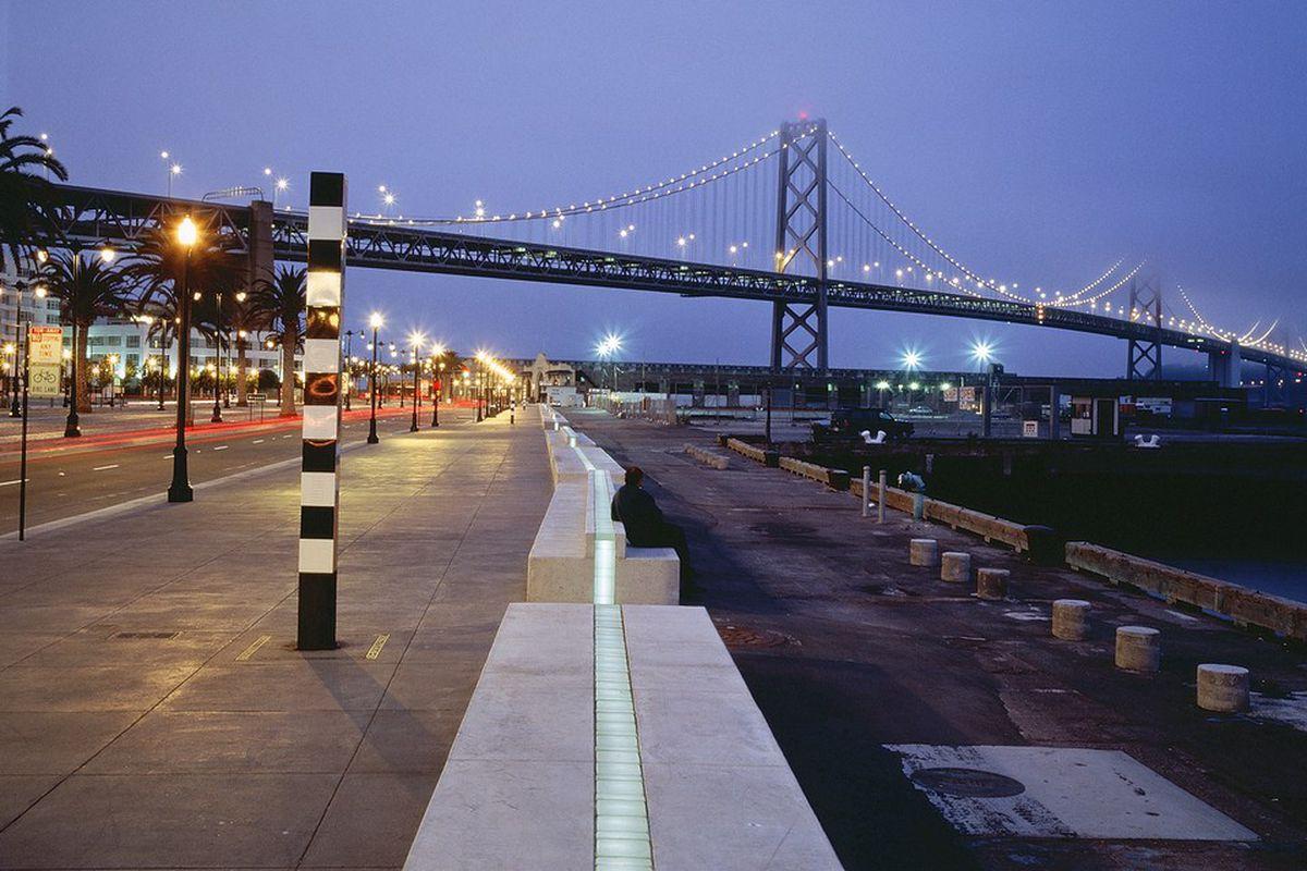 Will the Embarcadero 'Promenade Ribbon' ever light up again? - Curbed SF