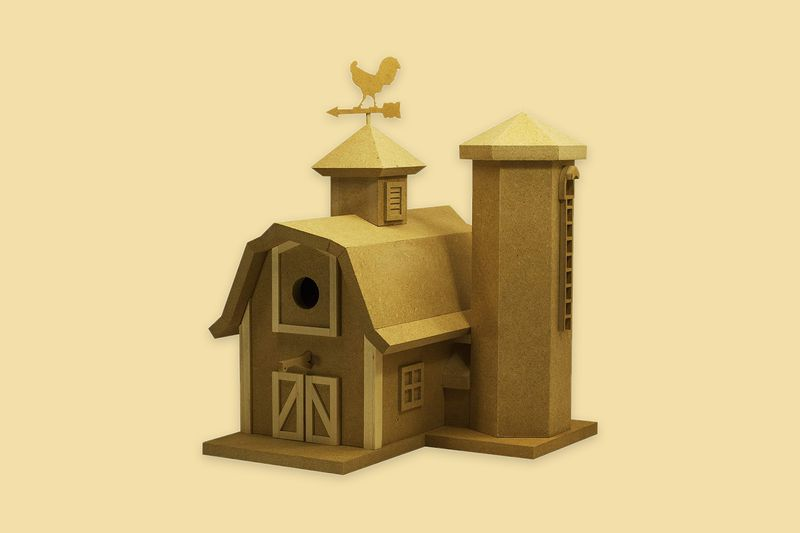 American Barn Birdhouse Kit Mother's Day 2020