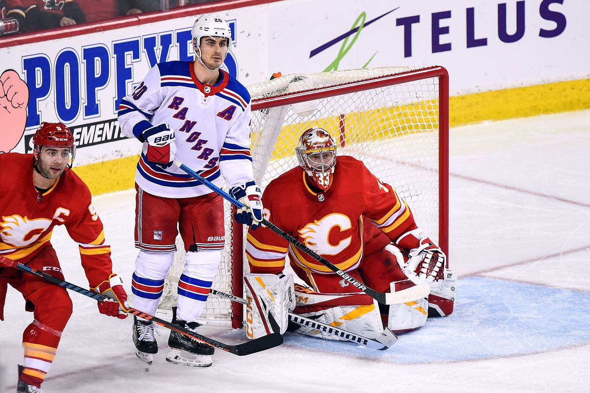 NHL: MAR 15 Rangers at Flames