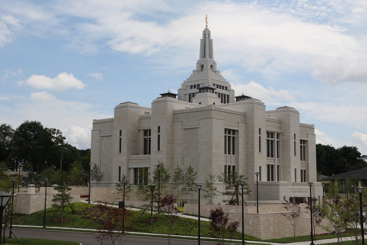FILE - The Church of Jesus Christ of Latter-day Saints has now closed temples in Sapporo (above) and Fukuoka, Japan, over coronavirus concerns.