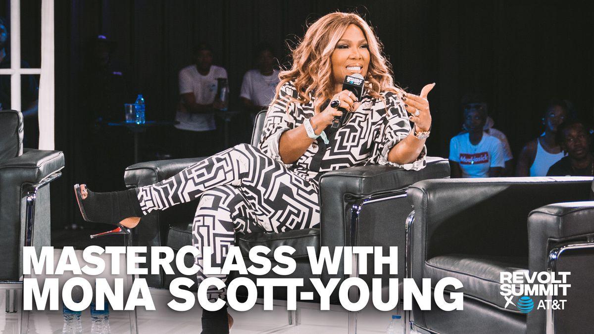 Mona Scott-Young at REVOLT Summit 2019