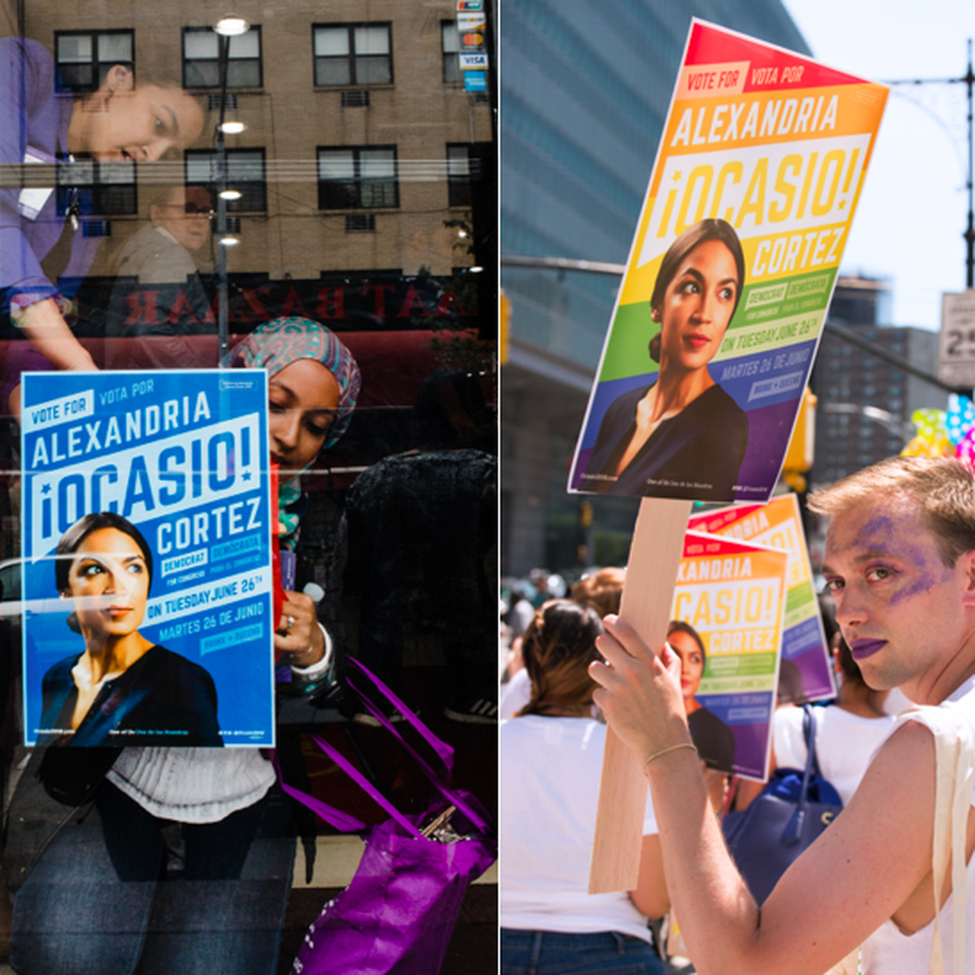 Alexandria Ocasio Cortezs Campaign Design Was A Big Bold Winning Bet Vox