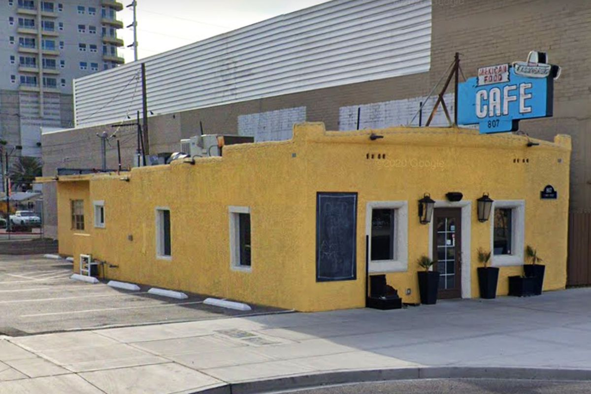 The exterior of El Sombrero Cafe, to be transformed into Letty's by restaurateur Leticia Mitchell.