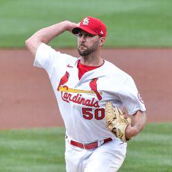 Adam Wainwright, Cardinals starting pitcher on Monday