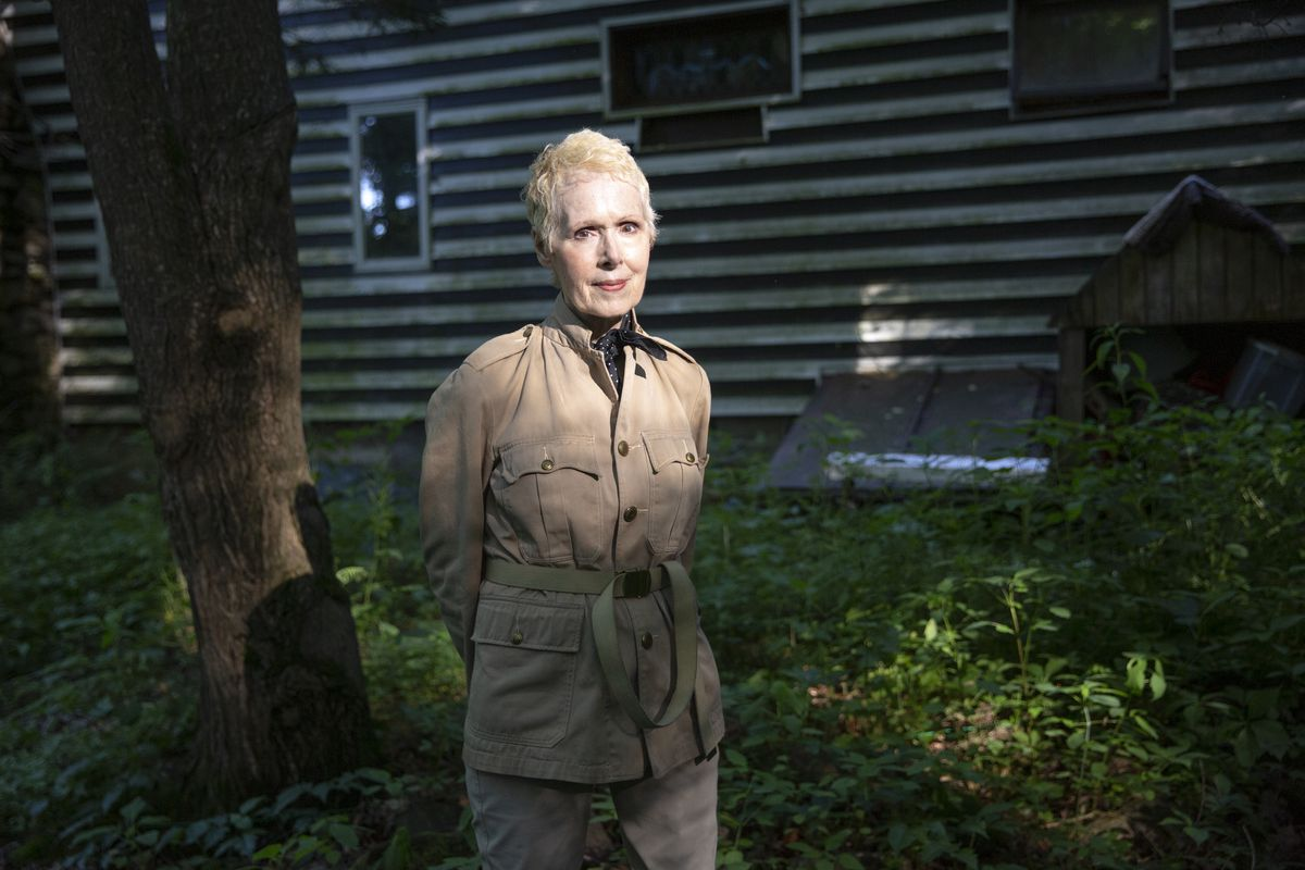 E. Jean Carroll at her home in Warwick, NY on June 21, 2019.