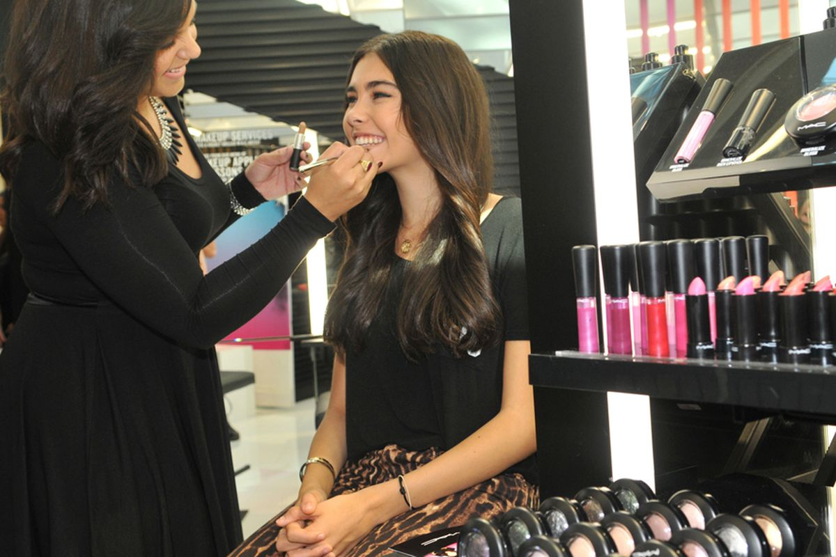 Fifteen-year-old singer Madison Beer at The Florida Mall MAC store opening event. Photo: Getty