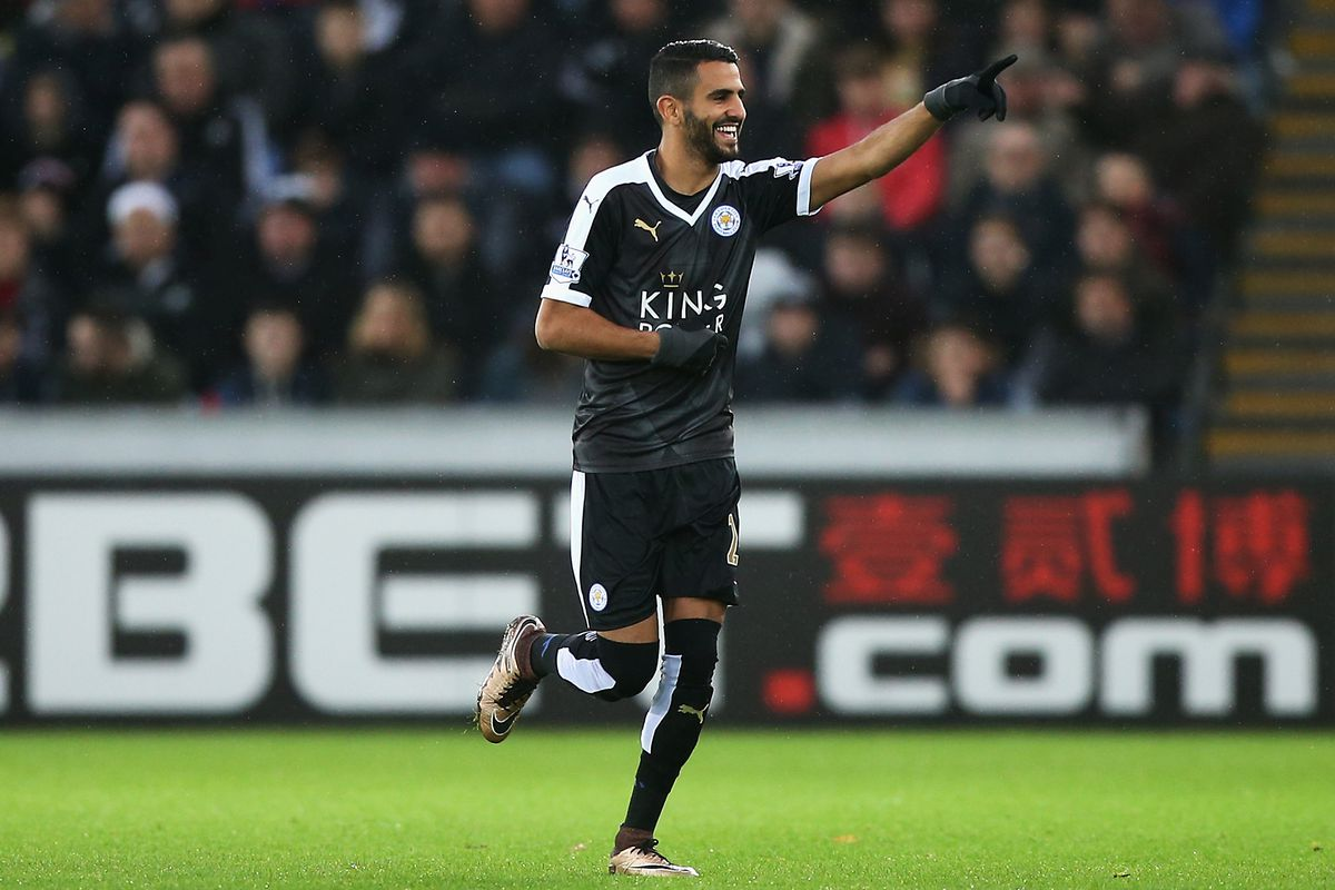 Leicester City are proving they're the real deal, with Mahrez at the front of the queue.