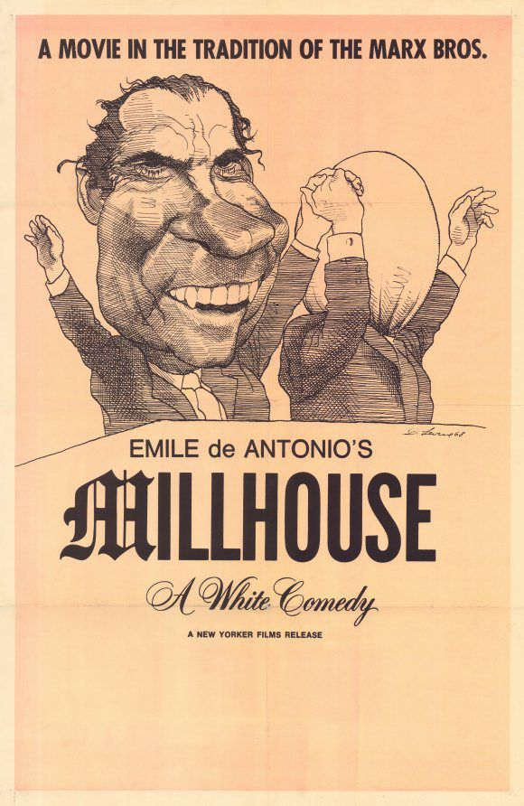 The poster for Millhouse: A White Comedy