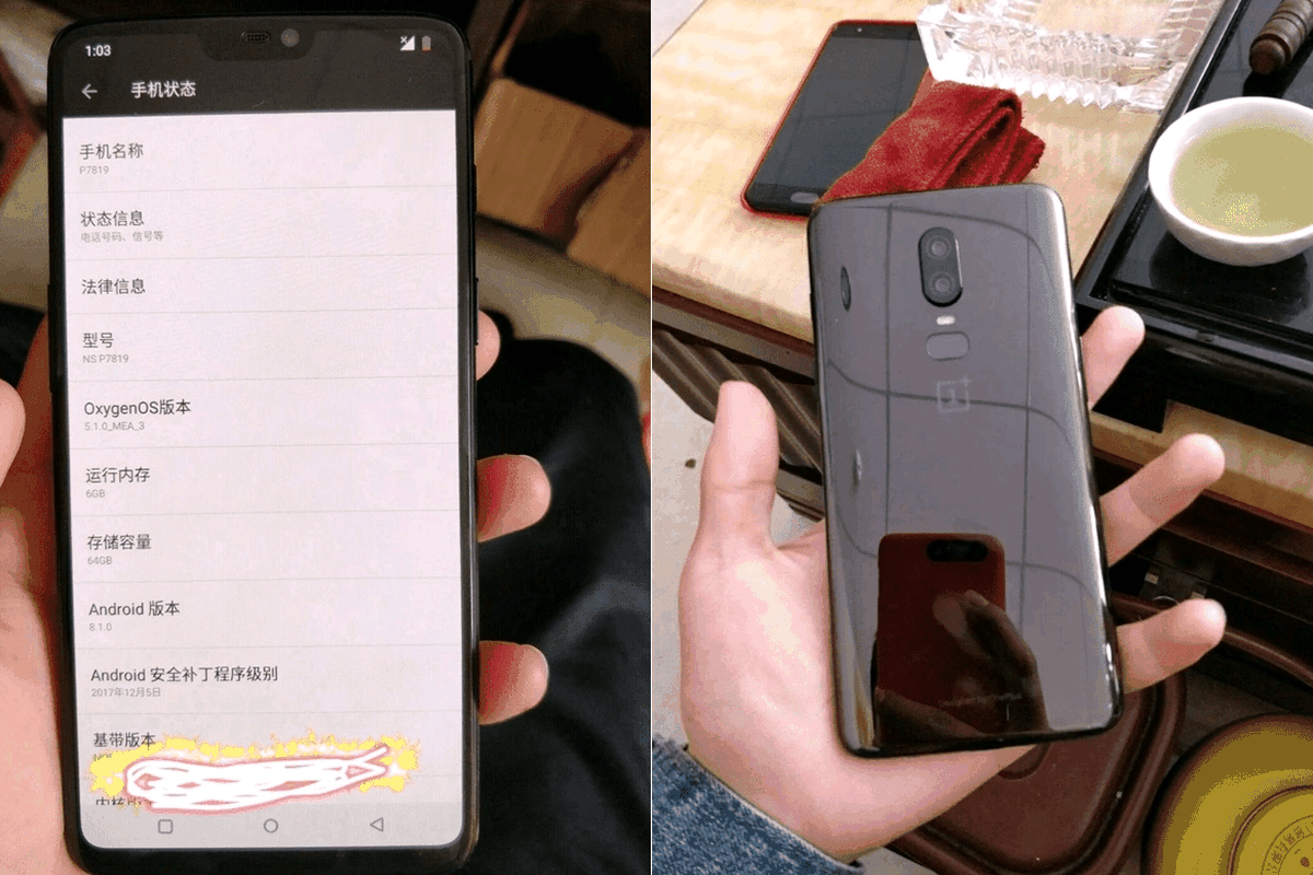 c5e910f8cf0 The OnePlus 6 might cost significantly less than the iPhone X and feature  8GB of RAM