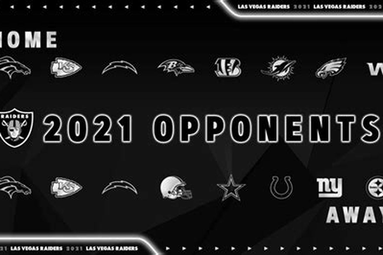 Raiders Home Opponents 2021