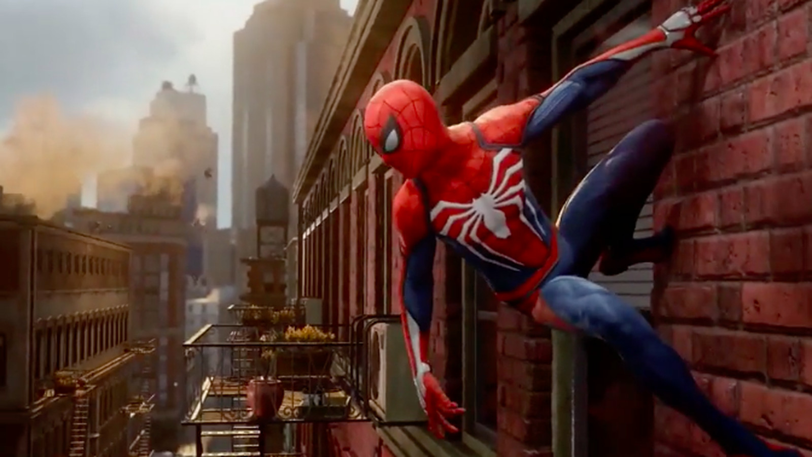 Marvel And Insomniac's Spider-Man PS4-exclusive Game