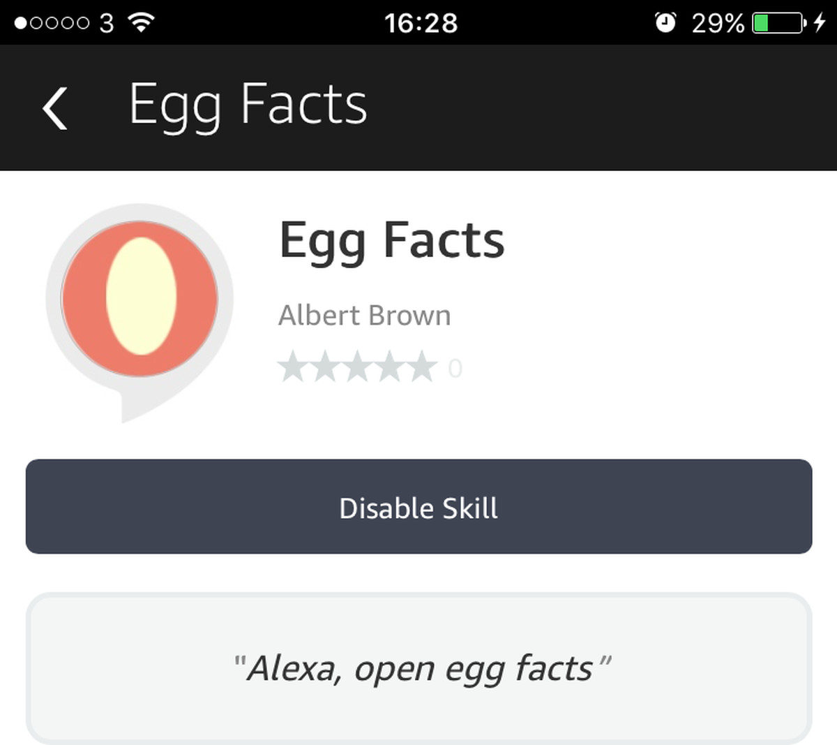Alexa stop already six of the worst amazon echo skills the verge egg facts kristyandbryce Image collections