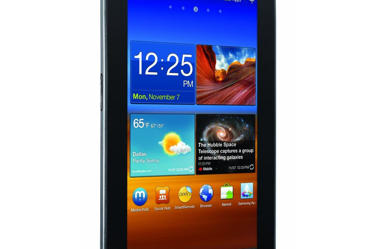 Galaxy Tab 7 0 Plus shipping from Amazon, just a little