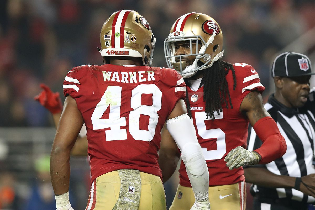 newest 5cb53 47600 49ers news: Fred Warner changes his number to #54 - Niners ...