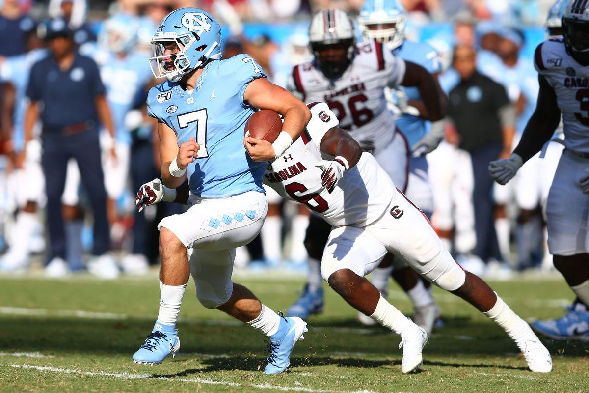 NCAA Football: South Carolina at North Carolina