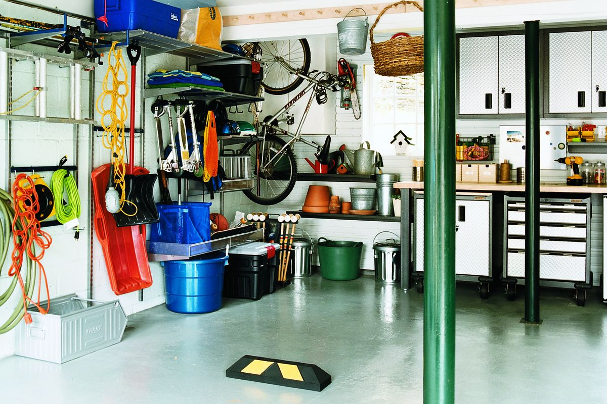 Create Your Own Garage Storage Plan This Old House