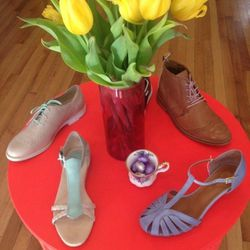 """<a href=""""http://instagram.com/busstopboutique"""">@busstopboutique</a>: Bus Stop's feed tempts followers with footwear brands you'd be hard-pressed to find at the mall. Just one of the many reasons this Fabric Row boutique has been named the <a href=""""http://"""