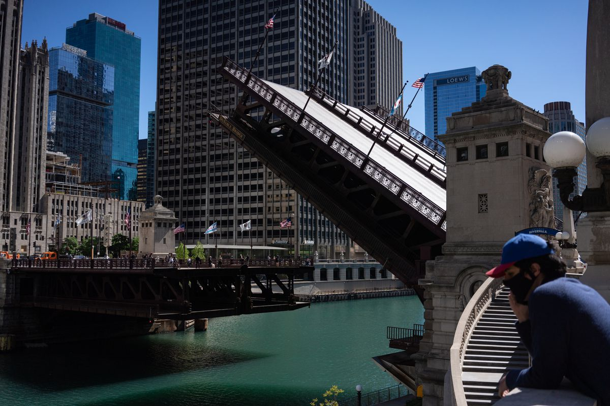 Widespread Damage In Chicago