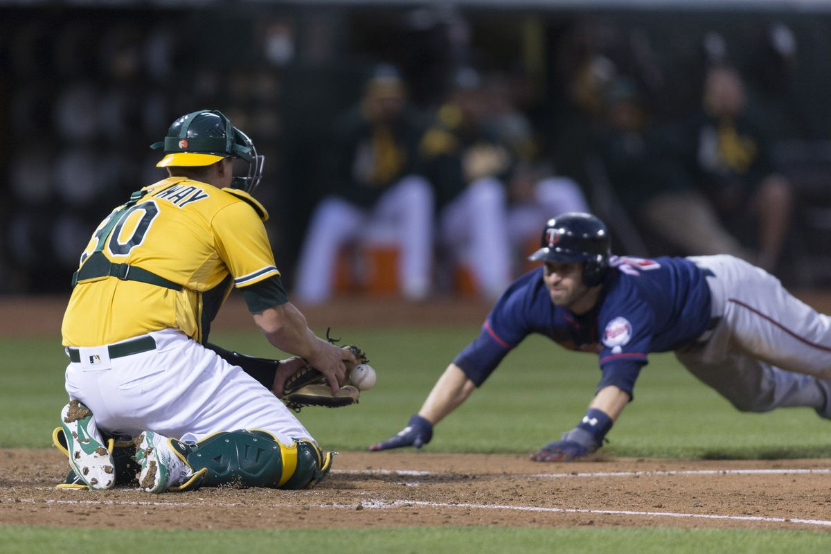 MLB: Minnesota Twins at Oakland Athletics