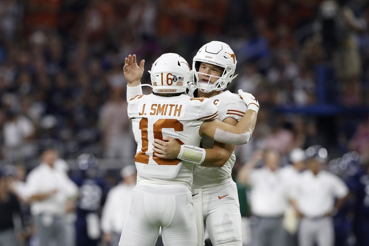 Texas cooks Rice in 48-13 blowout victory