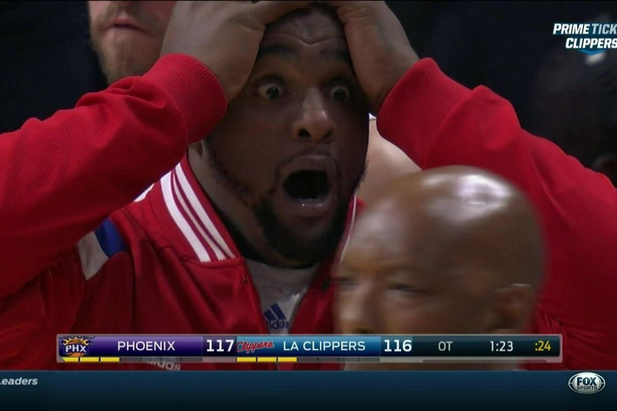 The 5 craziest moments from the Clippers  overtime win vs. the Suns ... 75501bd0b