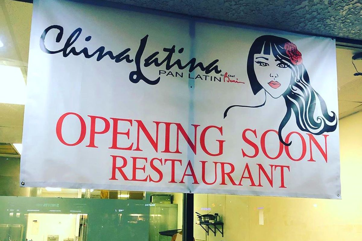 The under construction exterior of Chef Beni Velazquez's new Asian fusion and pan-Latin restaurant, coming soon to the eastside.