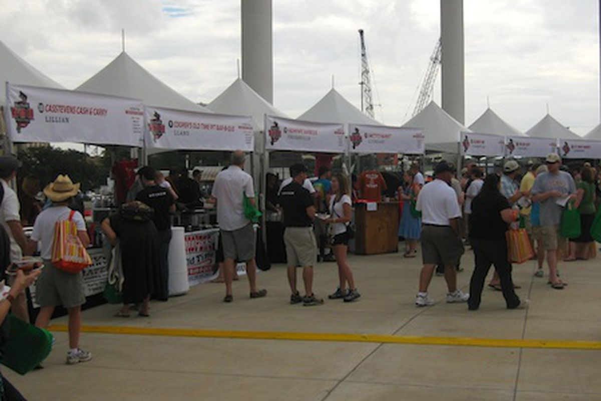 Last year's Texas Monthly BBQ Fest.