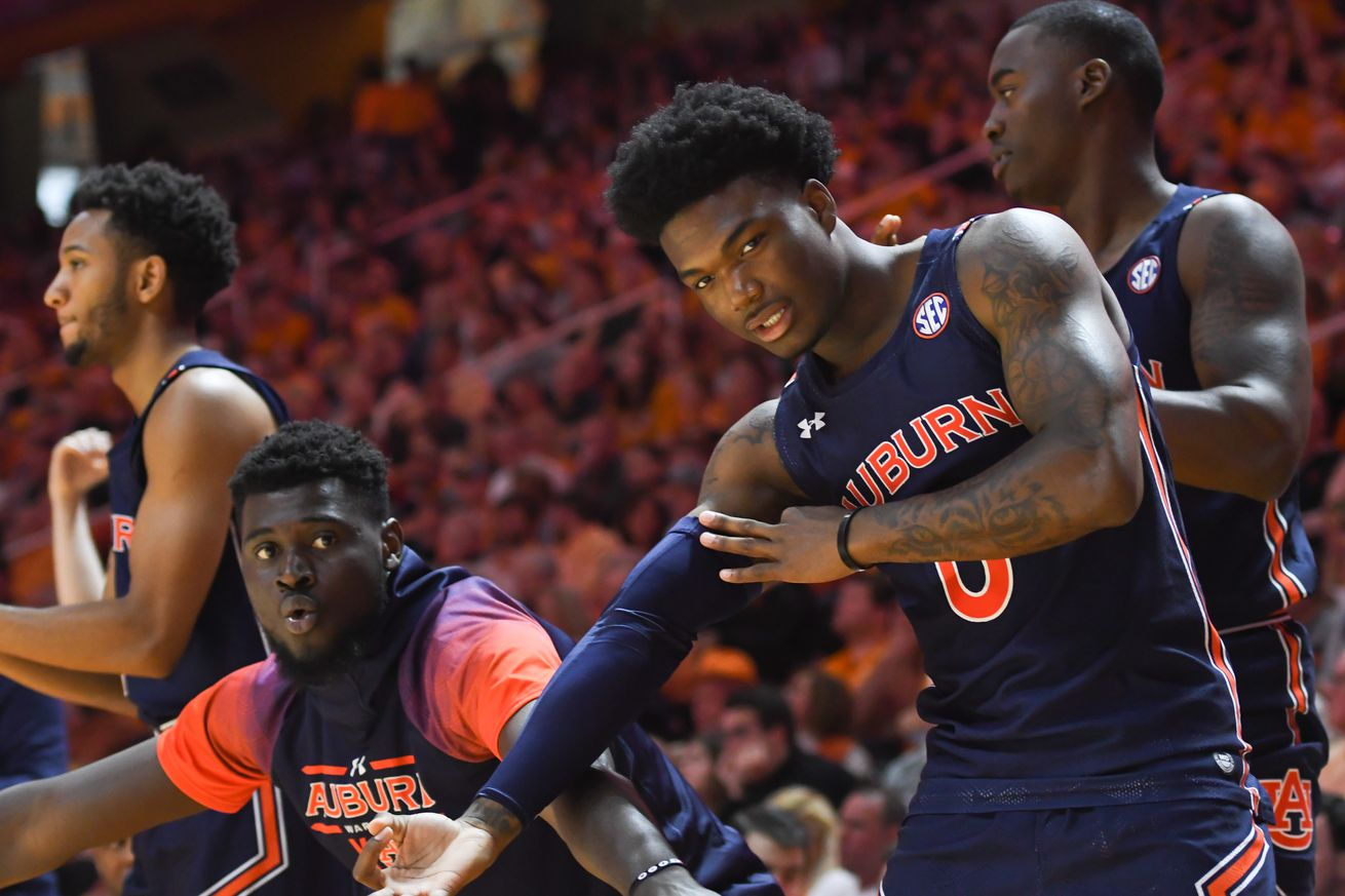 NCAA Basketball: Auburn at Tennessee