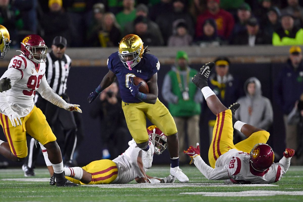 COLLEGE FOOTBALL: OCT 12 USC at Notre Dame