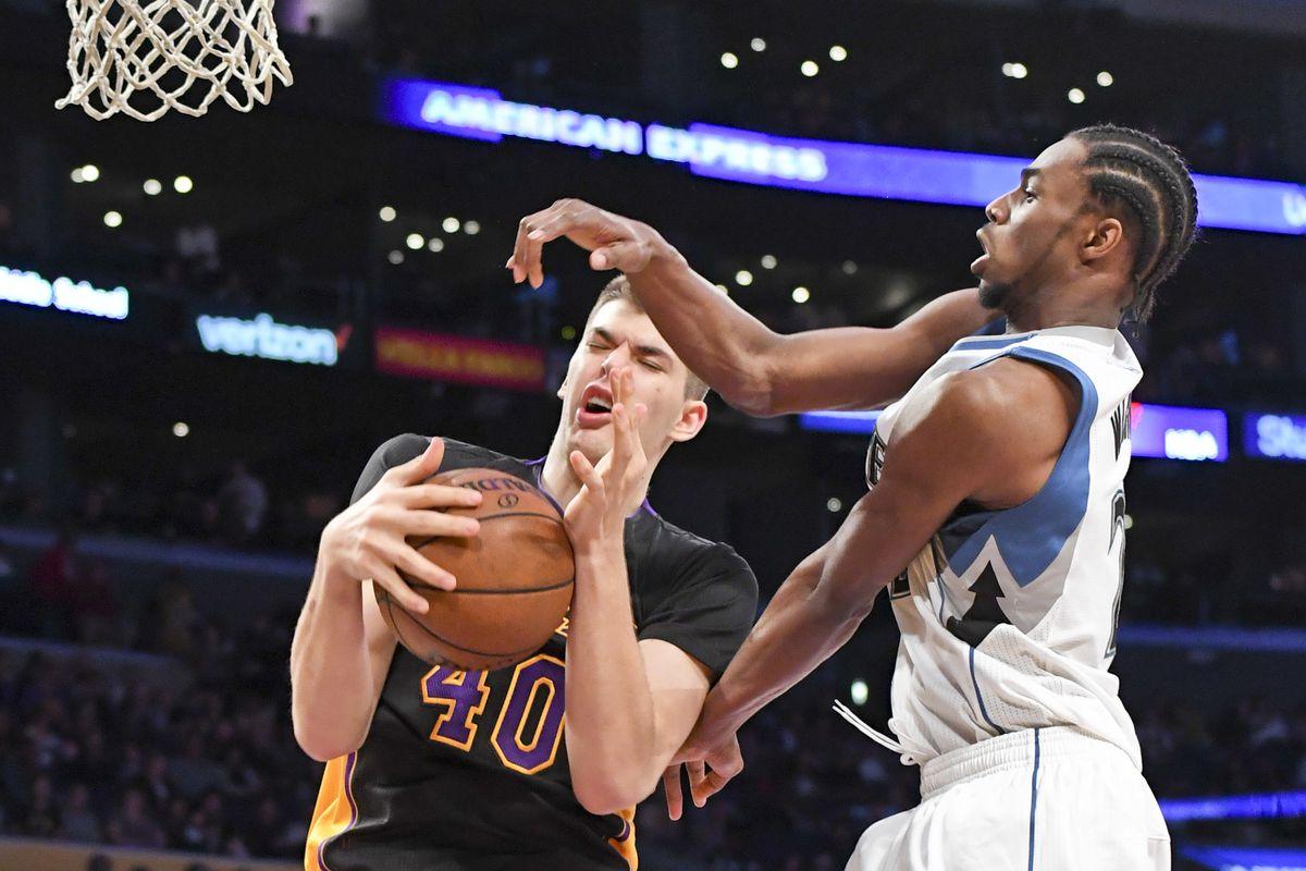 NBA: Minnesota Timberwolves at Los Angeles Lakers
