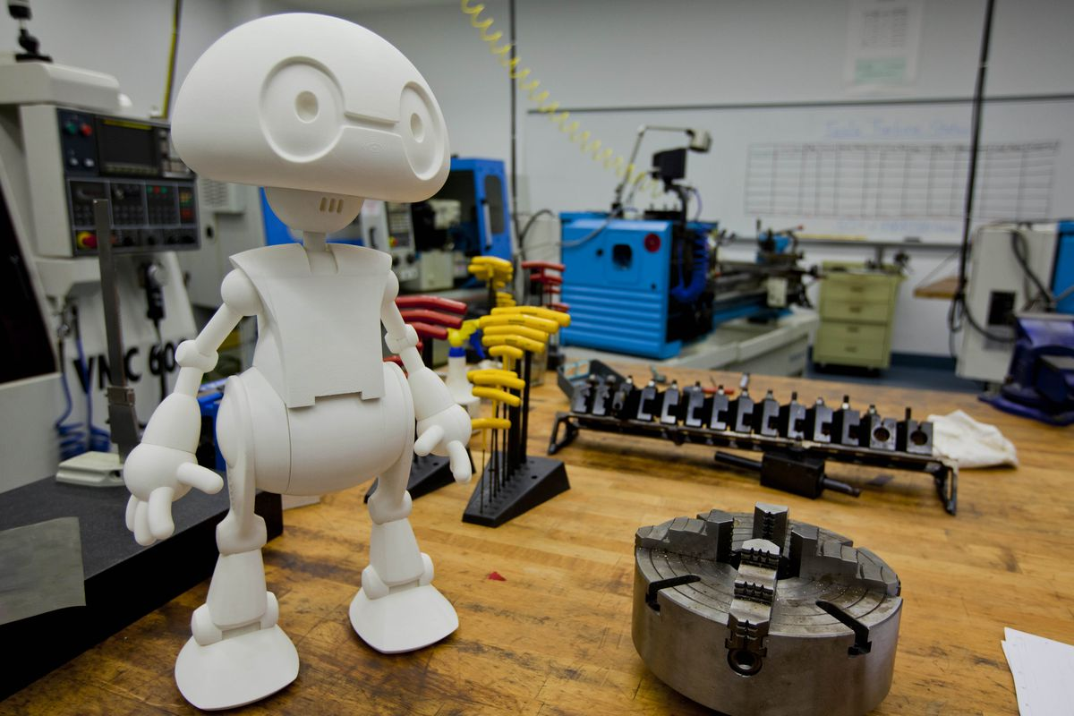 Heeeeeere's Jimmy: Intel's 3-D Printed Robot Will Hit the Market Later This Year