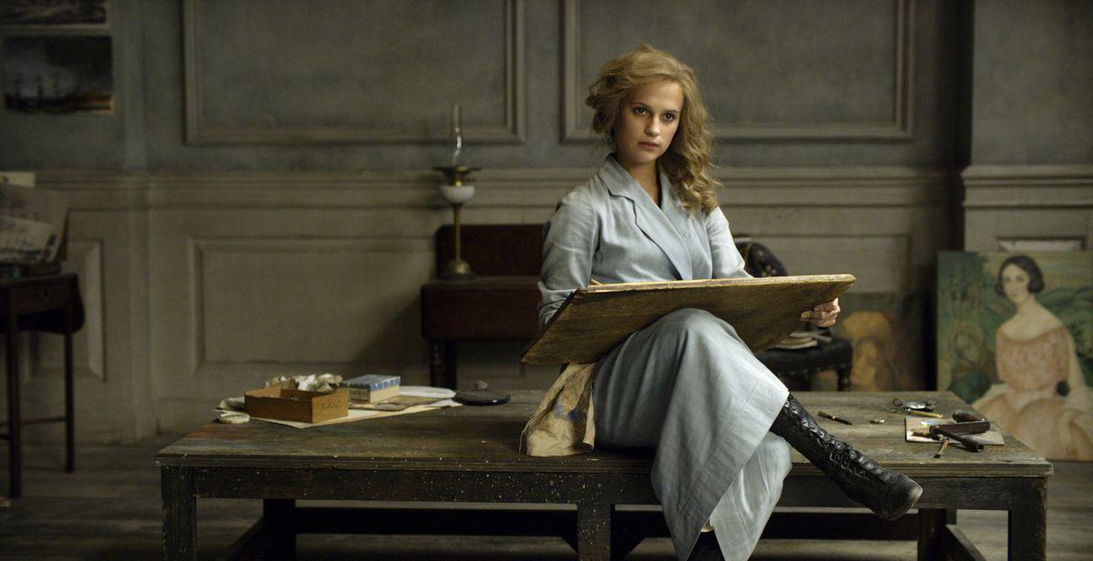 Alicia Vikander in The Danish Girl.