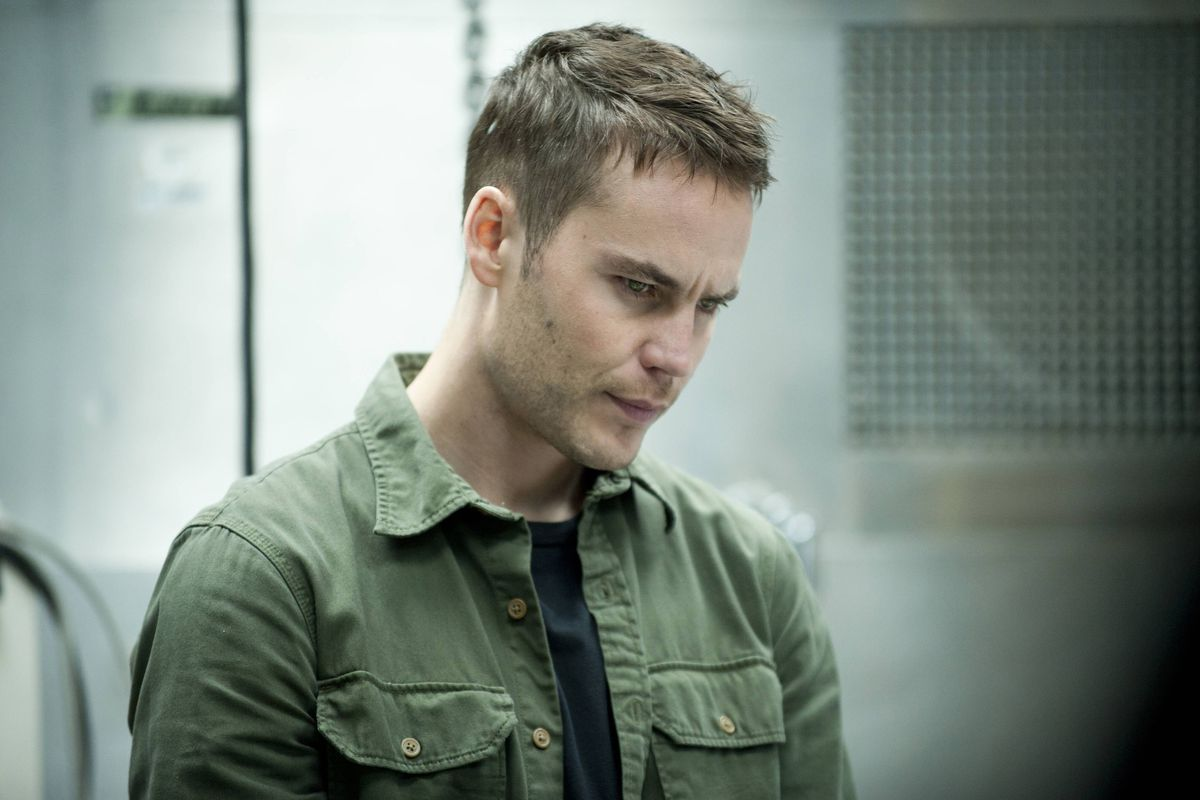 Taylor Kitsch stars in True Detective, season two. Poor Taylor Kitsch.