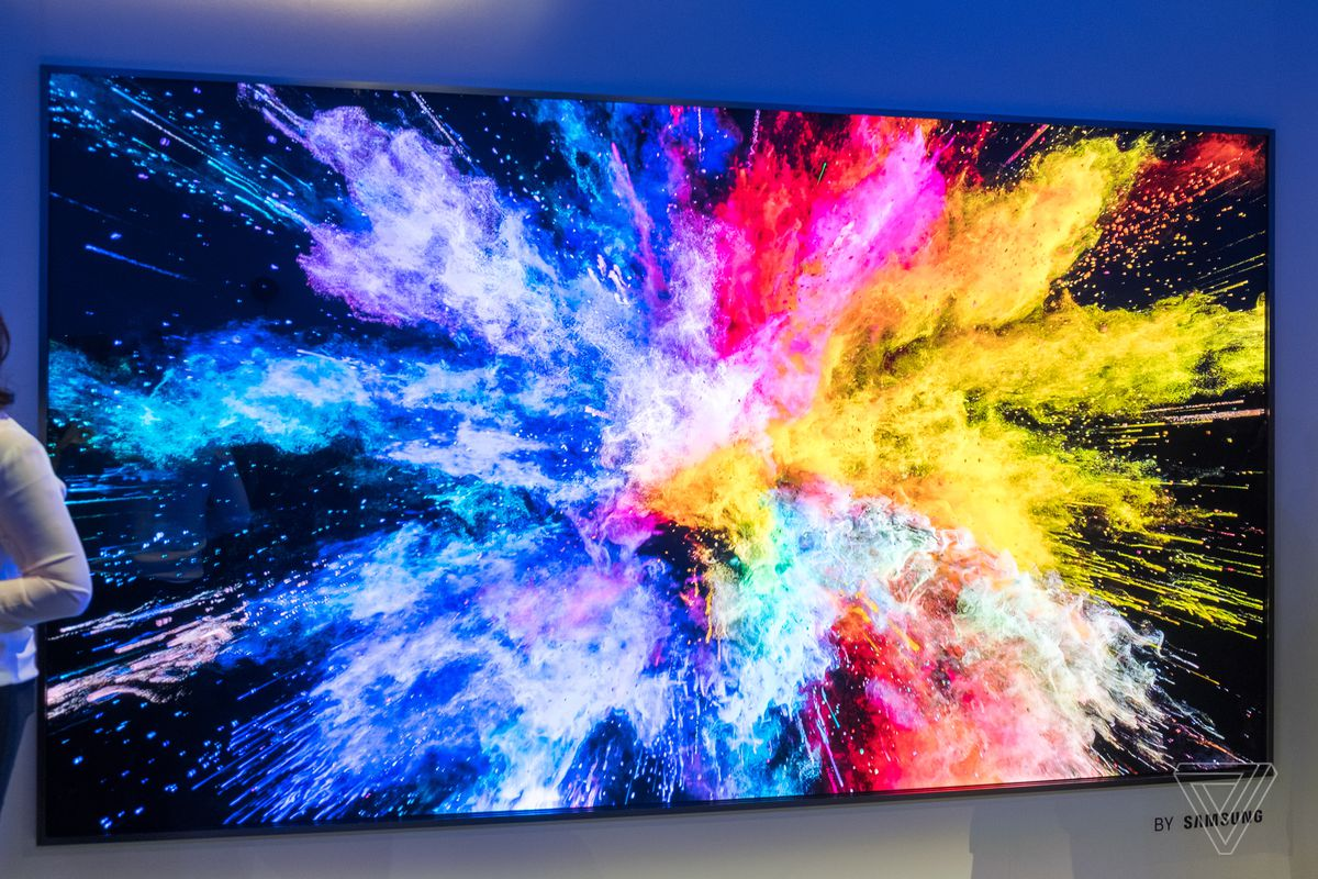 Samsung spits out an 85-inch TV with 8K resolution