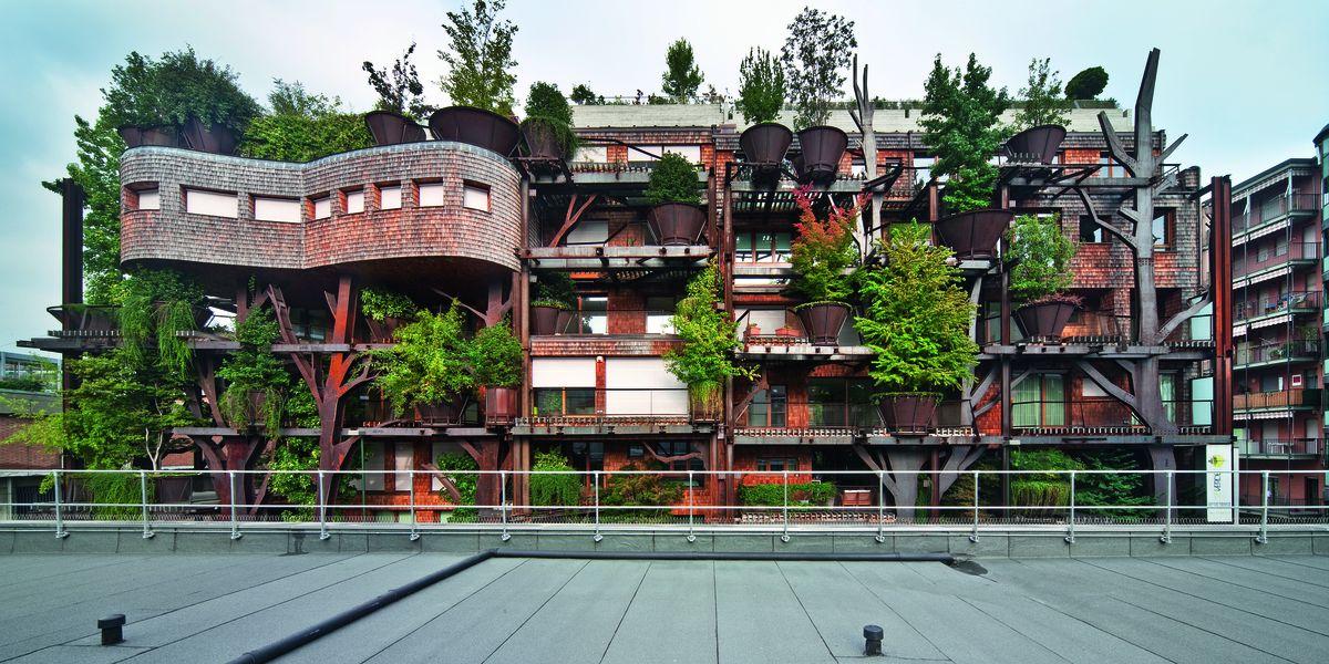 25 Verde: Corten Forest in Turin, Italy<br>