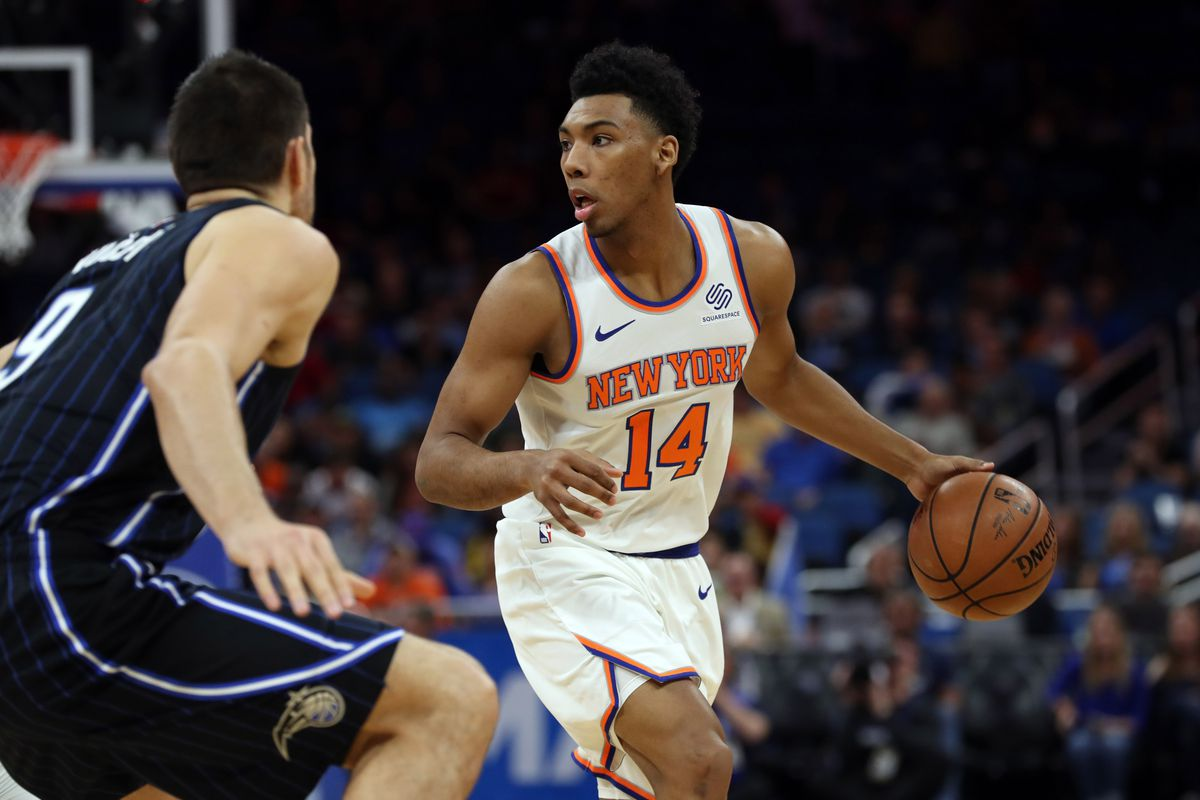 dbe04f33b Allonzo Trier drops career-high 25 for New York Knicks in upset of New  Orleans