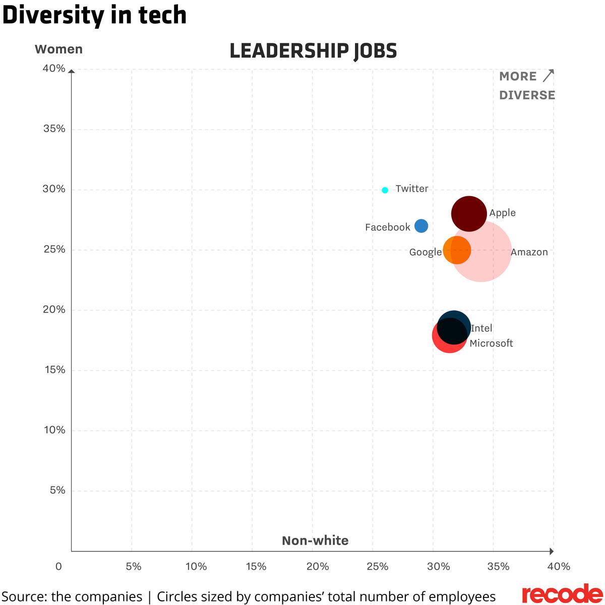 Diversity in technology leadership