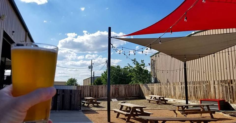 The patio at Flying Man