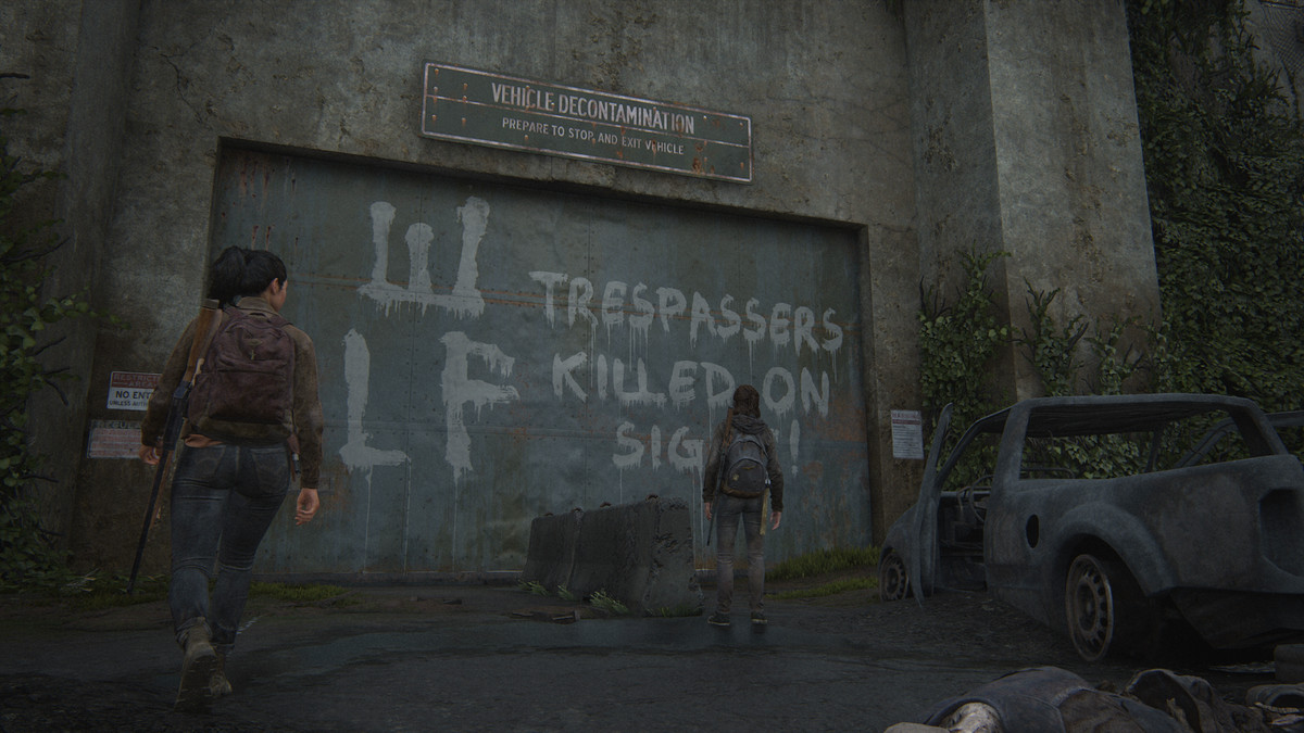 WLF Gate Journal Entry collectible The Last of Us Part 2 Seattle Day 1 (Ellie)