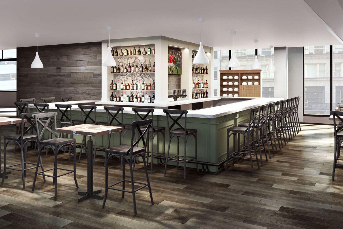 Mercato Kitchen & Bar rendering