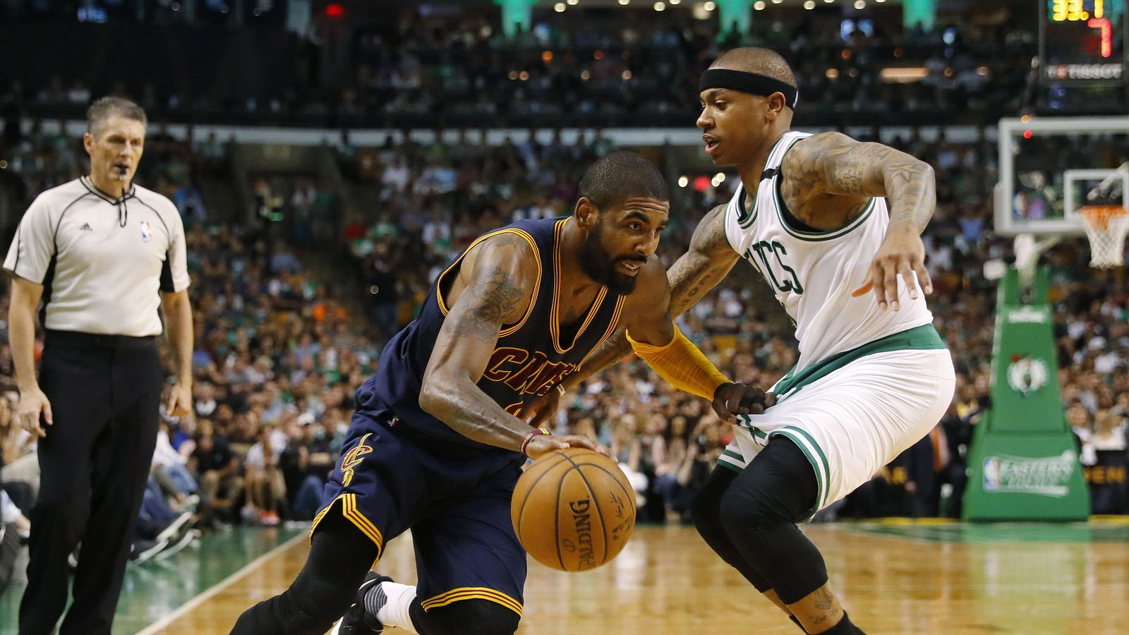 Kyrie-Isaiah trade went from ?in discussion? to reality very quickly