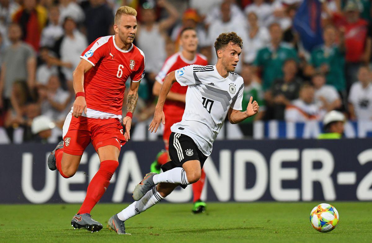 Germany v Serbia: Group B - 2019 UEFA U-21 Championship