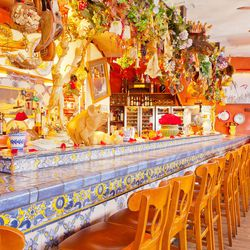 """<strong><a href=""""http://boston.eater.com/places/dali"""">Dali</a></strong>, Somerville. This is probably the most hands-down enchanting restaurant space in all the Boston area, assuming you're kind of into fantasy. Classic Spanish tapas elements like salt co"""