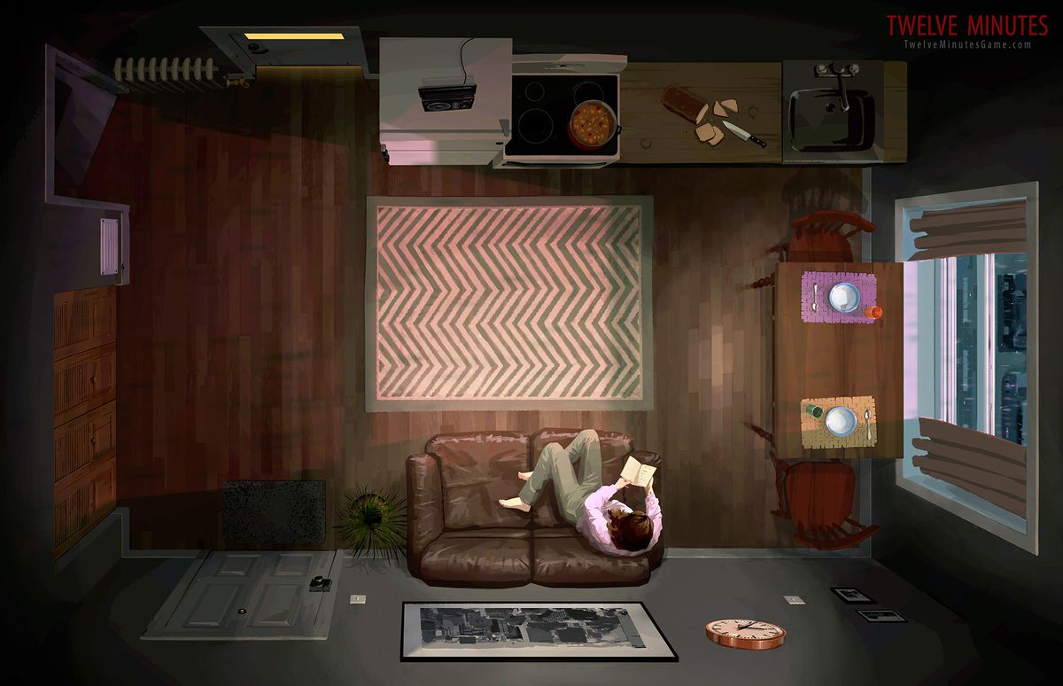 Twelve Minutes concept art 2000