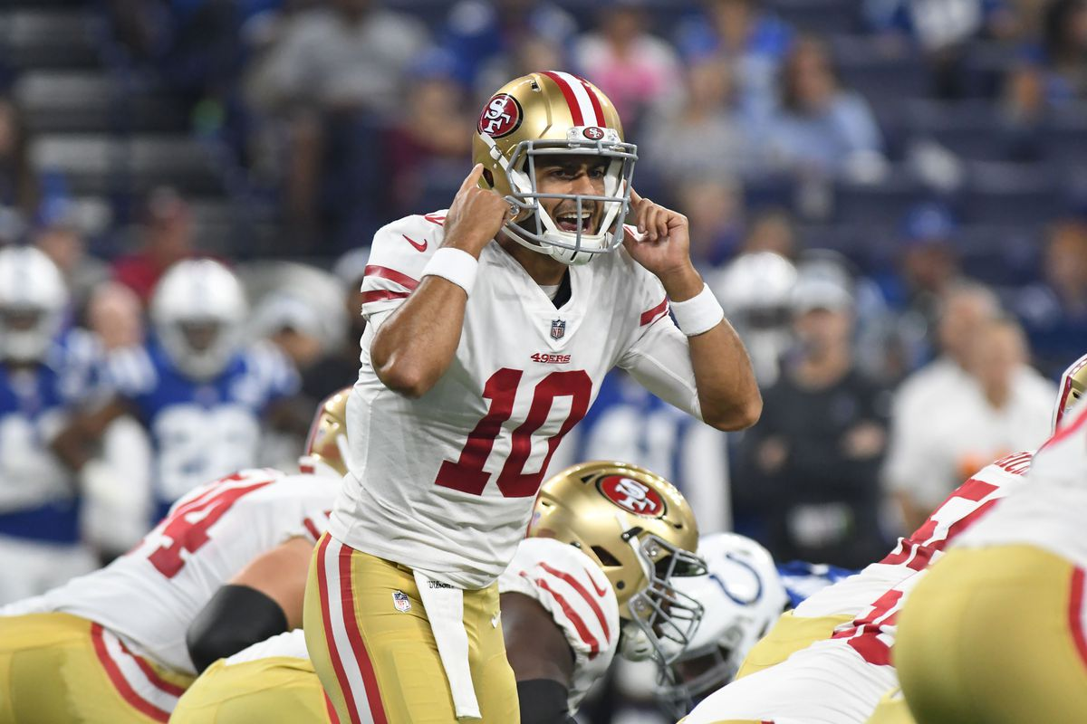 Jimmy Garoppolo has never lost a start. Will that change on Sunday  Thomas  J. Russo-USA TODAY Sports 396b49c48